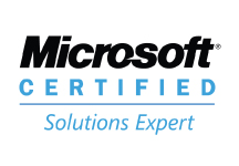 MS Certified Solutions Experts