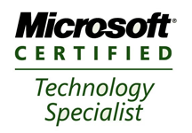 MS Certified Technology Specialists