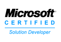 MS Certified Solution Developers